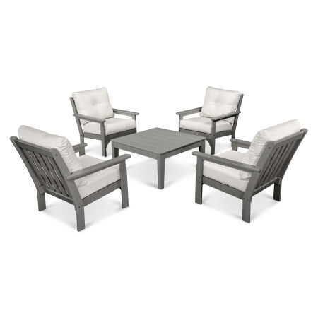 Vineyard 5-Piece Conversation Set