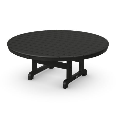 "Round 48"" Conversation Table in Black"