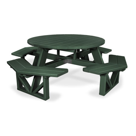"""Park 53"""" Octagon Table in Green"""