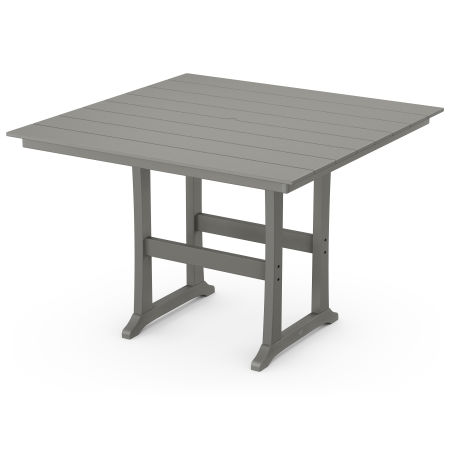 "Farmhouse Trestle 59"" Bar Table"