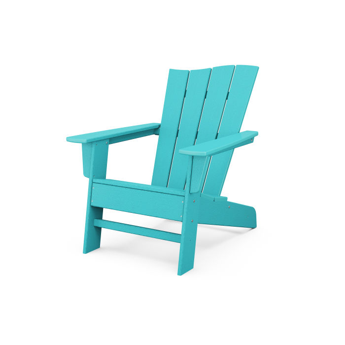 The Wave Chair Right in Vintage Finish