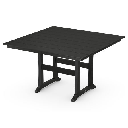 """59"""" Counter Table in Black"""