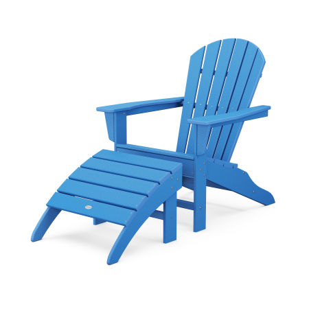 South Beach Adirondack 2-Piece Set in Pacific Blue