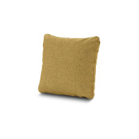"16"" Outdoor Throw Pillow by POLYWOOD® in Blend Honey"
