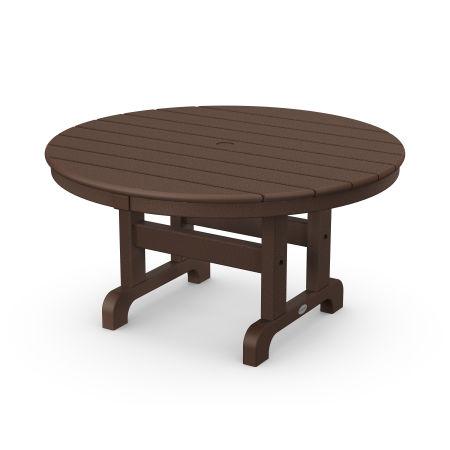 "Round 36"" Conversation Table in Mahogany"