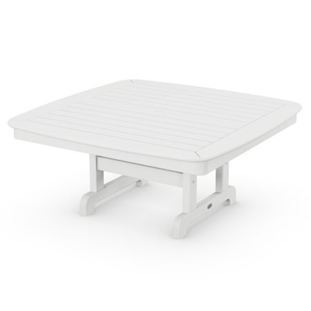 """Nautical 44"""" Conversation Table in White"""