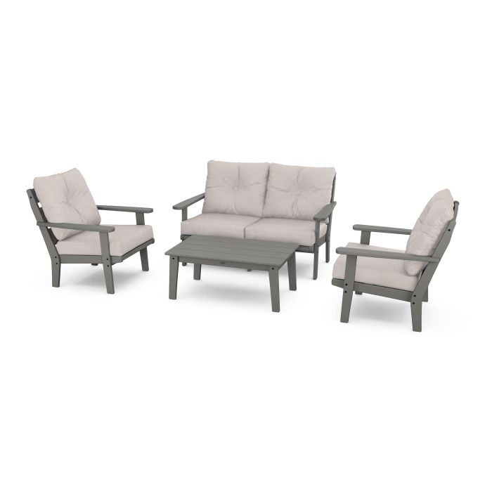 Lakeside 4-Piece Deep Seating Set