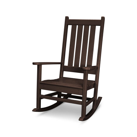 Vineyard Porch Rocking Chair in Mahogany