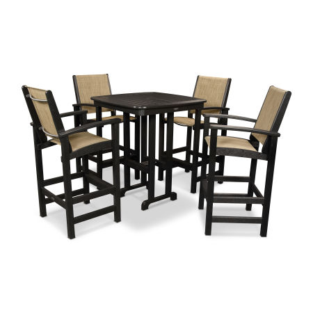 Coastal 5-Piece Bar Set