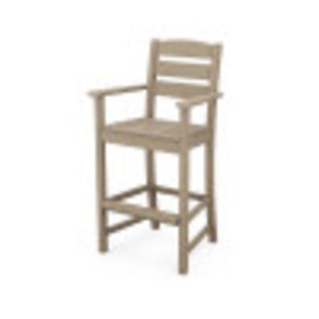 Lakeside Bar Arm Chair in Vintage Sahara