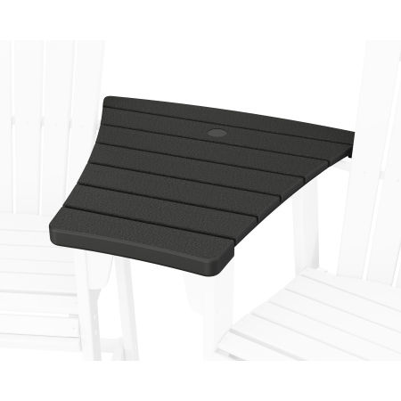 600 Series Angled Adirondack Dining Connecting Table in Black