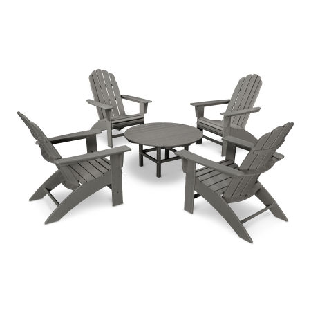 Vineyard 5-Piece Oversized Adirondack Set