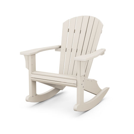 Seashell Rocking Chair in Sand