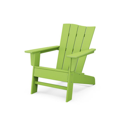 The Wave Chair Left in Lime