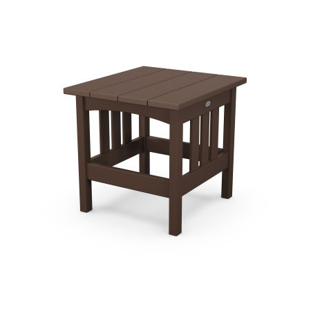 """22"""" x 24"""" End Table in Mahogany"""
