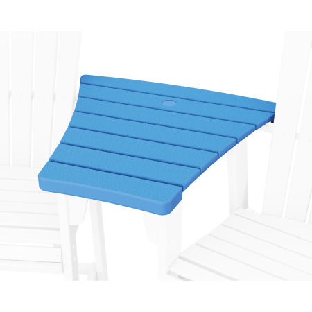 600 Series Angled Adirondack Dining Connecting Table in Pacific Blue