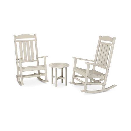 Presidential 3-Piece Rocker Set in Sand