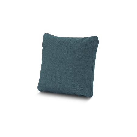 "16"" Outdoor Throw Pillow by POLYWOOD® in Blend Lagoon"