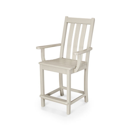 Vineyard Counter Arm Chair in Sand