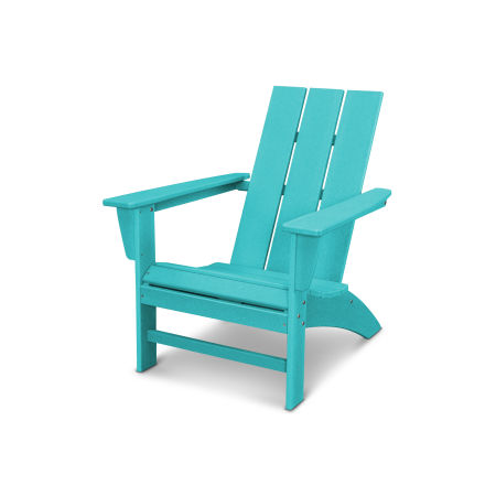 Modern Adirondack Chair in Vintage Aruba