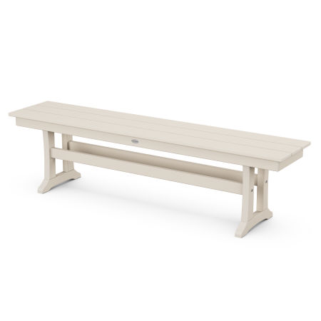 "Farmhouse 65"" Bench in Sand"