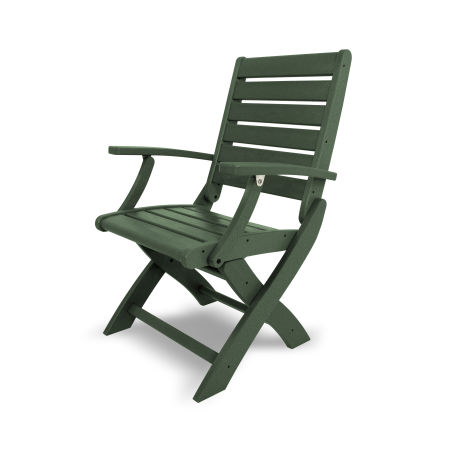 Signature Folding Chair in Green