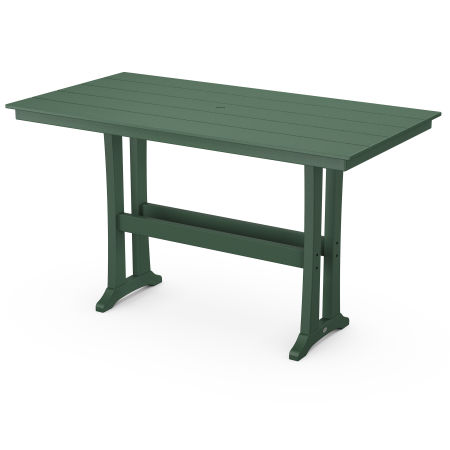 Bar Table in Green