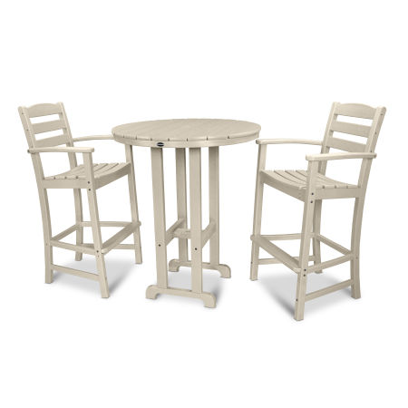 La Casa Café 3-Piece Bar Set in Sand