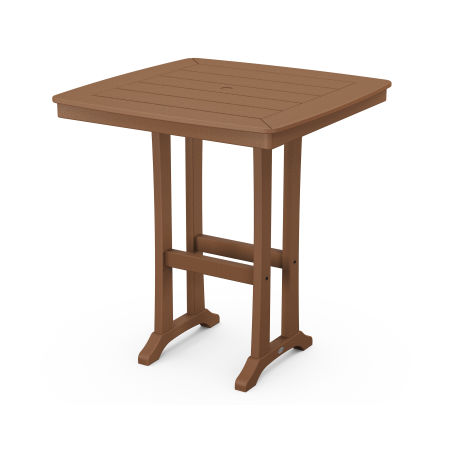 """37"""" Bar Table in Teak"""