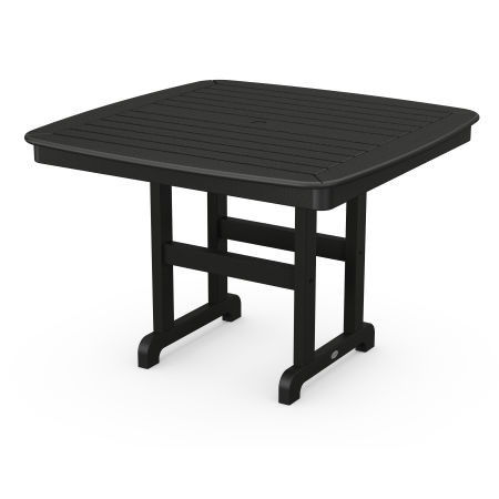 """Nautical 44"""" Dining Table in Black"""