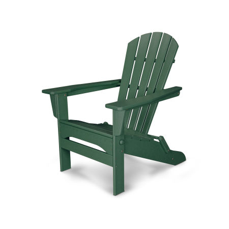 Palm Coast Folding Adirondack in Green