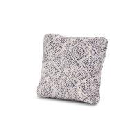 """18"""" Outdoor Throw Pillow in Leona Indigo"""