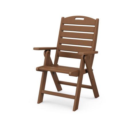 Nautical Highback Chair in Teak