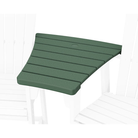 600 Series Angled Adirondack Dining Connecting Table in Green