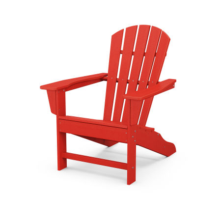 Palm Coast Adirondack in Sunset Red