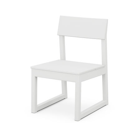 EDGE Dining Side Chair in White