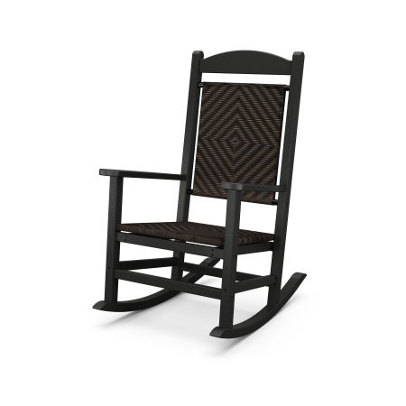 Presidential Woven Rocking Chair in Cahaba