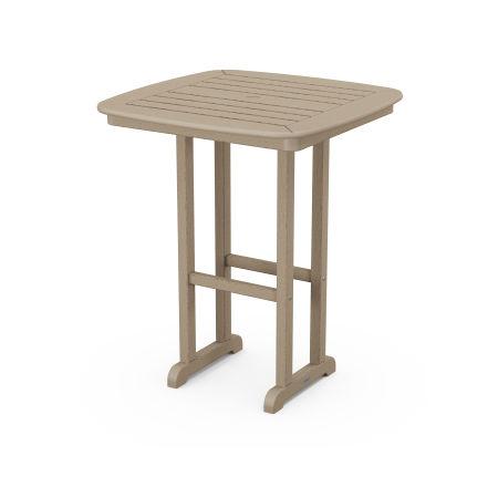 "Nautical 31"" Counter Table in Vintage Sahara"