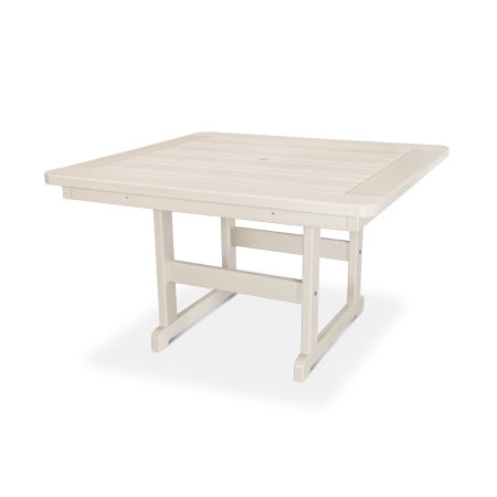 """Park 48"""" Square Table in Sand"""