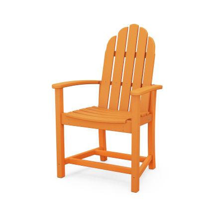 Classic Adirondack Dining Chair in Tangerine