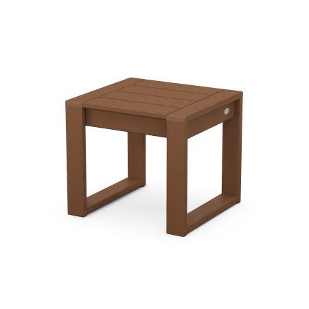 EDGE End Table in Teak