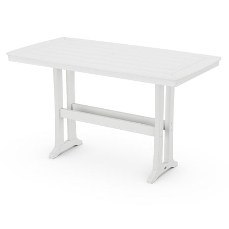 Bar Table in White