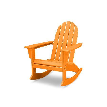 Vineyard Adirondack Rocking Chair in Vintage Tangerine