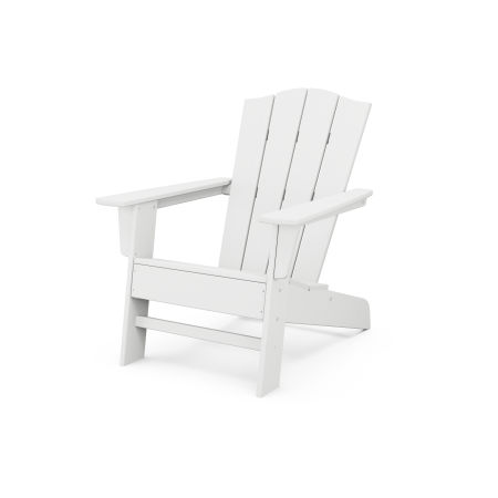 The Crest Chair in White