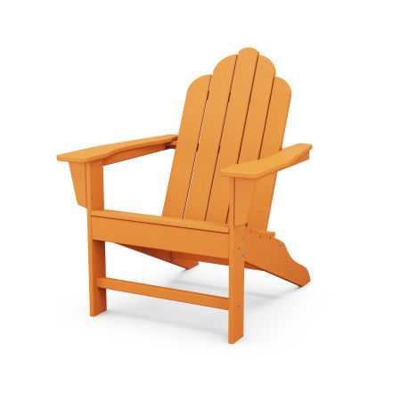 Long Island Adirondack in Tangerine
