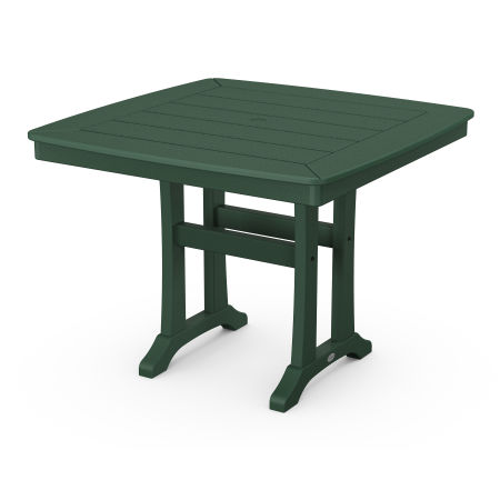 """37"""" Dining Table in Green"""