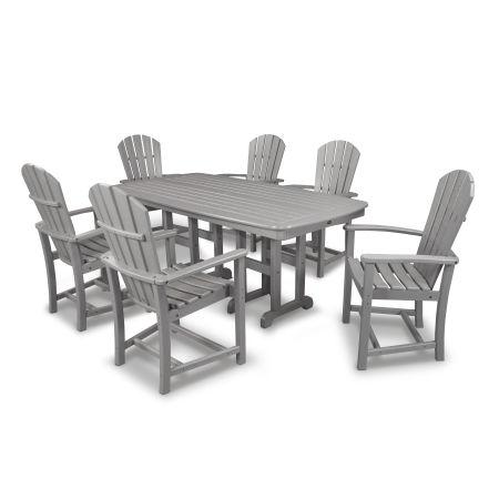 Palm Coast 7-Piece Dining Set in Slate Grey