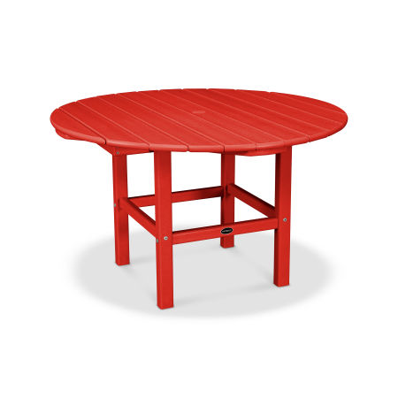 Kids Dining Table in Sunset Red