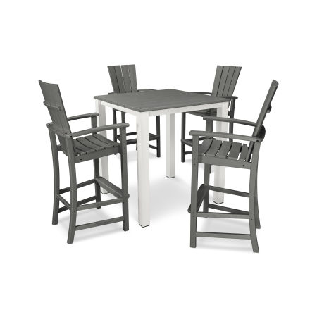 Quattro 5-Piece Bar Set