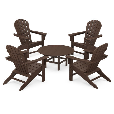 5-Piece Conversation Group in Mahogany
